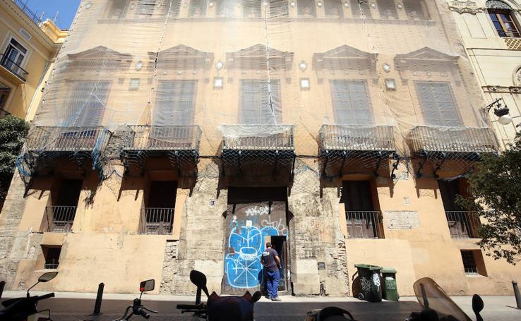 Empiezan las obras para convertir el Palacio de Valeriola en un centro de arte