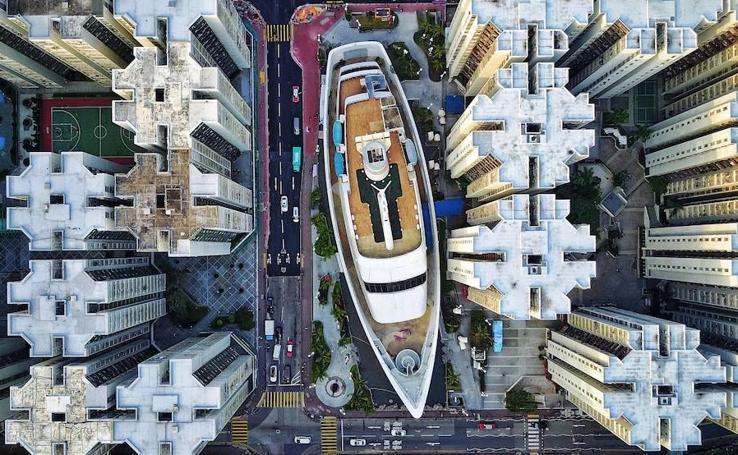 Impactantes vistas aéreas de ciudades