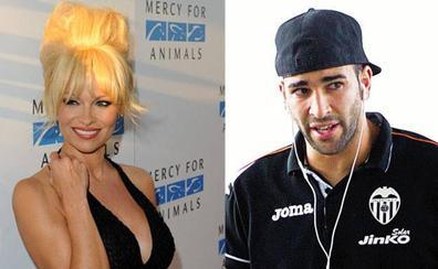 Pamela Anderson desmiente los rumores de ruptura con el exjudaror del Valencia CF Adil Rami