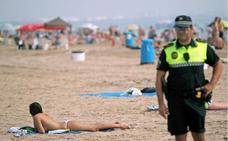 Detenido por abusos sexuales a varias mujeres en la playa de la Malvarrosa