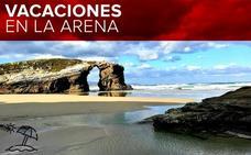 La playa más monumental de España