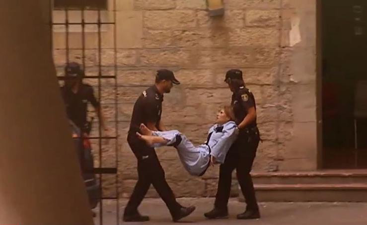 La 'viuda negra' de Alicante se niega a andar ante las cámaras
