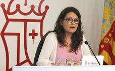 Oltra mantiene que no hay motivos para el adelanto electoral pese a las tensiones con el PSPV