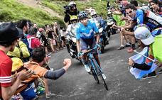 Quintana afronta la Vuelta como una revancha del Tour