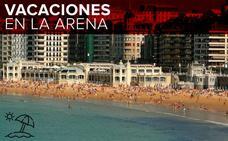 La playa más internacional