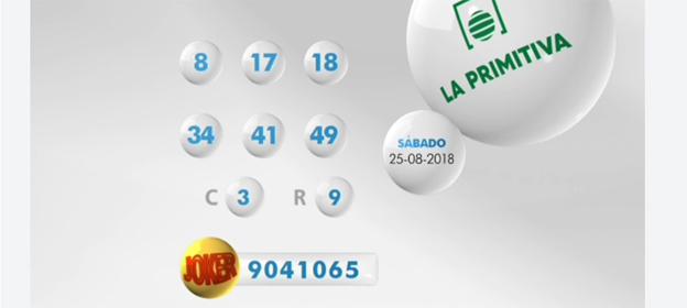 Resultados del sorteo de la Primitiva del sábado 1 de septiembre