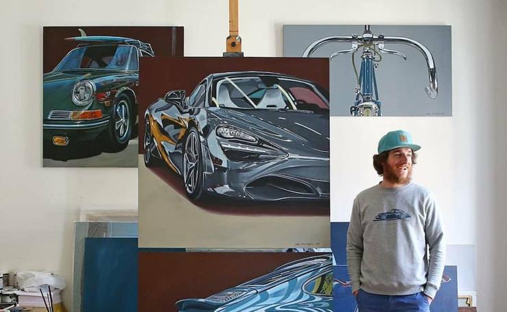 Arte y motor sobre lienzos