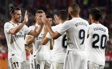 El Girona regala dos penaltis para la remontada del Real Madrid