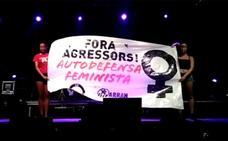 Agredido un hombre de 75 años en Oliva tras criticar el cartel de un grupo independentista
