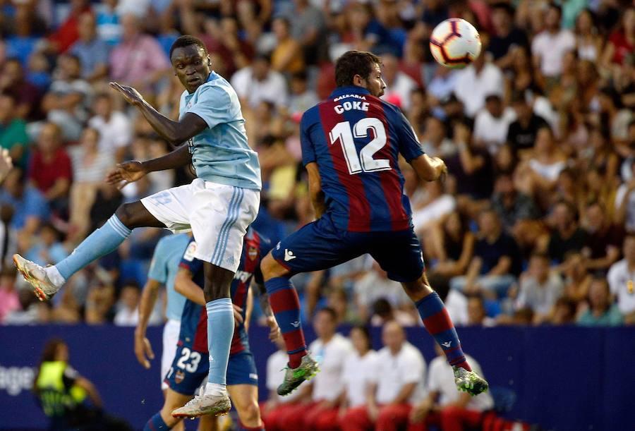 Fotos del Levante UD - RC Celta