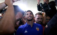 Guedes ya está en Valencia