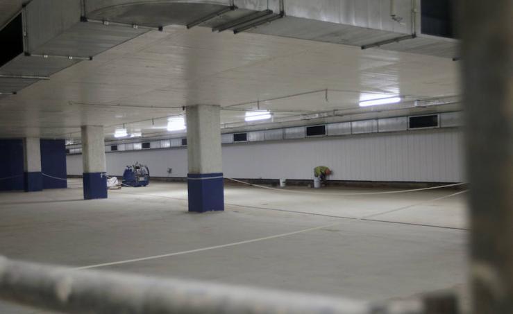 Así es el nuevo parking de la plaza de Brujas de Valencia
