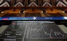 El Ibex-35 aguanta los 9.600 pese a la presión de los grandes valores