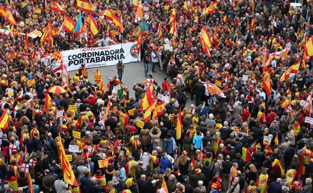 TABARNIA PRESENTA EN EL PARLAMENTO EUROPEO SU PROYECTO PARA SEPARAR TARRAGONA Y  BARCELONA