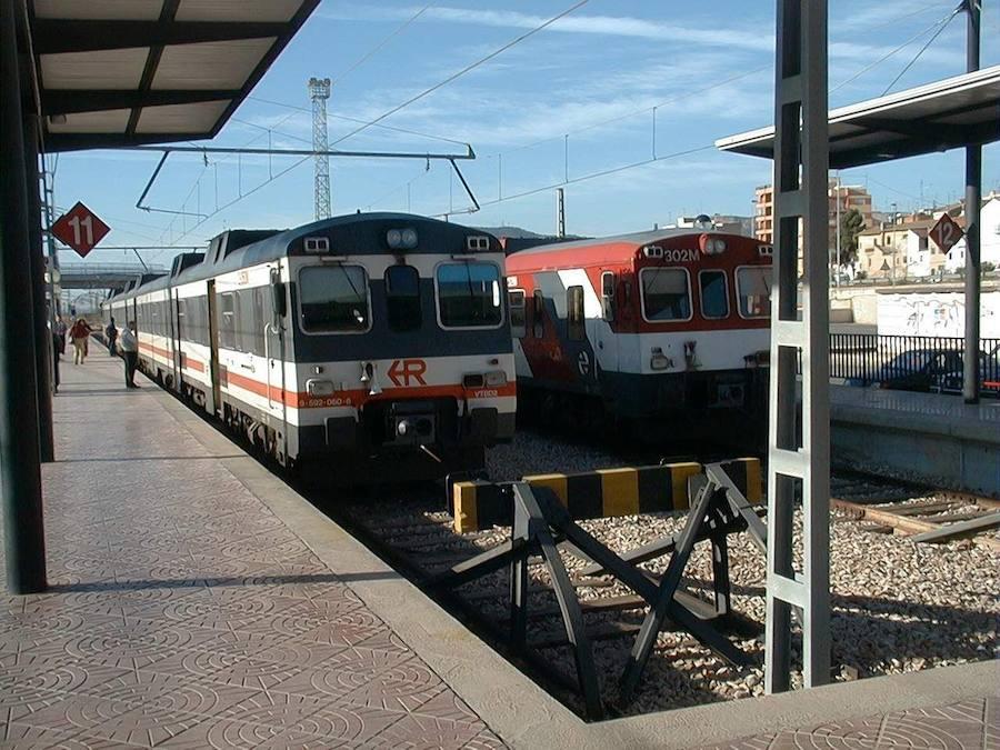 Adif restablece todas las líneas de tren del tramo Valencia-Sagunto