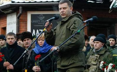 El líder de los rebeldes prorrusos en Ucrania fallece en un atentado