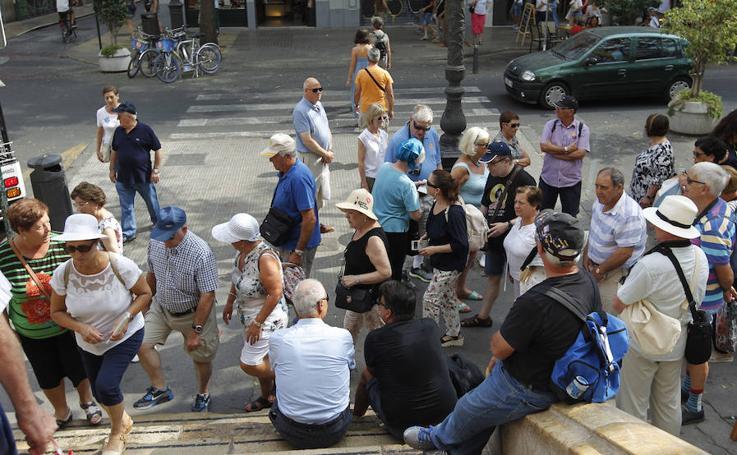 El primer fin de semana de septiembre en las calles de Valencia