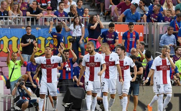 Las mejores imágenes del Barcelona - Huesca