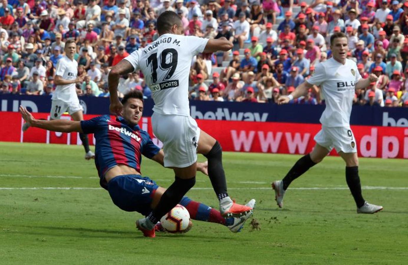 Fotos del Levante UD - Valencia CF
