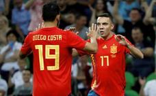Iago Aspas sustituye a Diego Costa en la selección