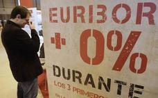 El euríbor amenaza con su primera subida anual desde 2014