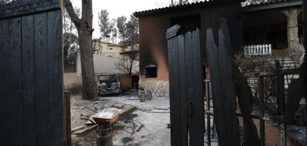 Los afectados por el incendio de Llutxent tendrán 45 días para pedir ayudas