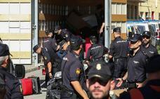 Imputados tres policías por una de las actuaciones más polémicas del 1-O