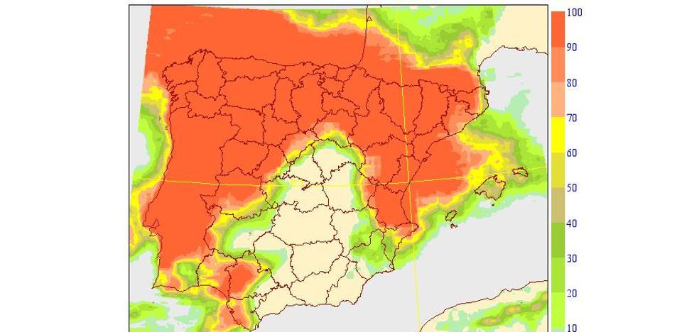 Un frente de tormentas barre l'Horta Sud y media Comunitat está otra vez en alerta