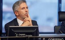 Marlaska insiste en que hablará de la guerra de los lazos con la Generalitat