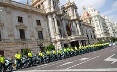 Calles cortadas hoy en Valencia por la salida de la Vuelta Ciclista