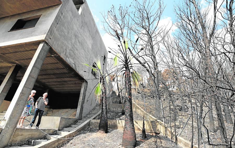 El Gobierno abre la vía a nuevas ayudas a los afectados por el incendio y a la exención del IBI