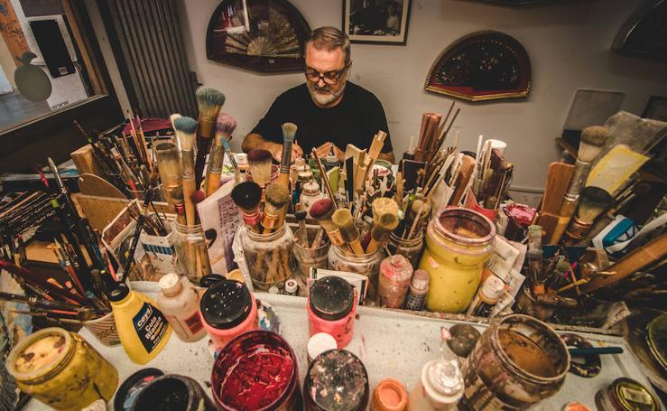 Vicente Benlloch Caballer, pintor de abanicos