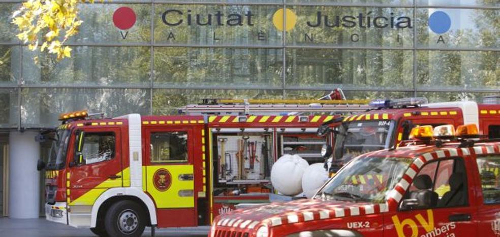 La mejora en la seguridad de la Ciudad de la Justicia tras el incendio costará 3,3 millones euros