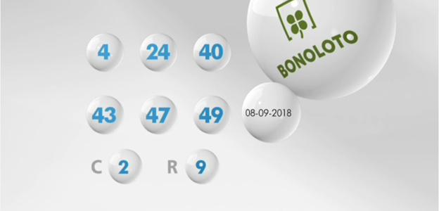 Resultados de la Bonoloto del sábado 15 de septiembre