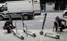 Vuelven a sacar los patinetes eléctricos de alquiler a las calles de Valencia