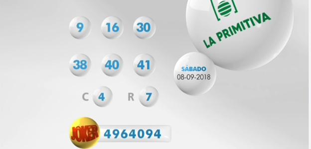 La Primitiva de hoy sábado: comprobar resultados del sorteo del 15 de septiembre