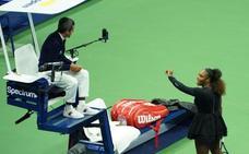 Serena Williams: «El árbitro es sexista; me quitó un juego por llamarle 'ladrón'»