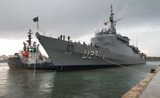 Llega a Valencia el buque escuela 'Brasil'