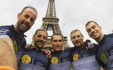 París-Valencia en bicicleta por el cáncer infantil