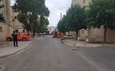 Desalojado un colegio de Algemesí por una fuga de gas en unas obras cercanas