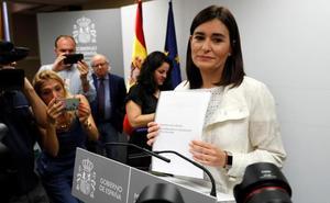 La Universidad Rey Juan Carlos detecta cambios en las notas de Carmen Montón