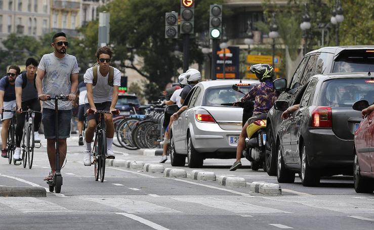 Los nuevos medios de transporte revolucionan Valencia