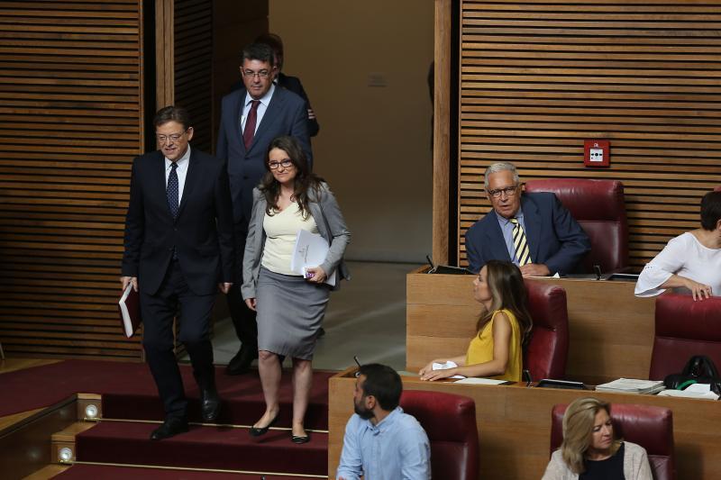 El discurso de Ximo Puig en el Debate de Política General