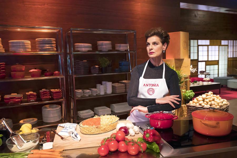Antonia Dell'Atte reconoce que lo ha pasado «muy mal» en 'MasterChef Celebrity 3'