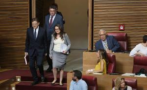 La estrategia electoral de Puig y Bonig acapara el Debate de Política General