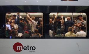 El servicio nocturno de Metrovalencia será hasta las 02.30 horas y estará subvencionado por la ATMV