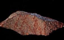 Hallan en Sudáfrica el dibujo a lápiz más antiguo del mundo