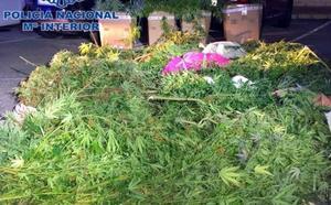 La Policía Nacional desarticula un grupo que vendía drogas cerca de un colegio de La Xara