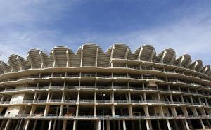 El nuevo estadio del Valencia CF, pendiente del mercado inmobiliario