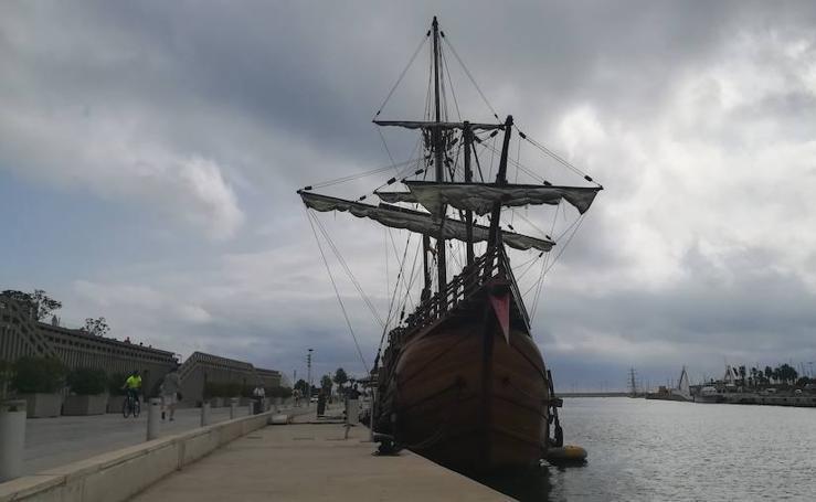 La Nao Santa María de Cristóbal Colón, anclada en la Comunitat